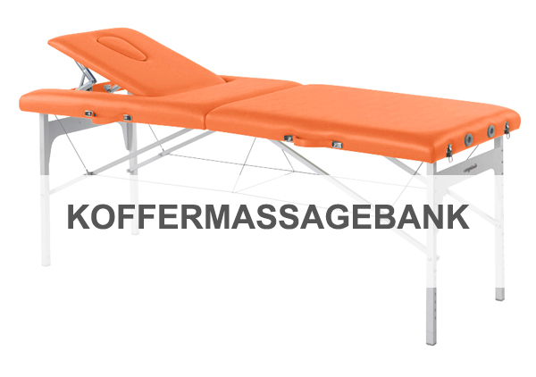 KOFFERMASSAGEBANK Therapieliegen