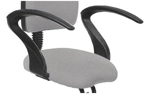 Non-adjustable armrests