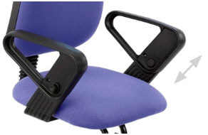 Adjustable armrests